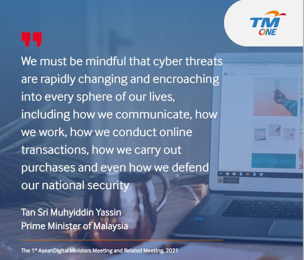 Cybersecurity Quote-by Prime Minister